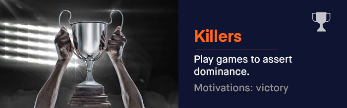 The Killers: They play games to assert dominance -- plain and simple. | UserWise