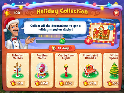 Holiday liveops event example | UserWise