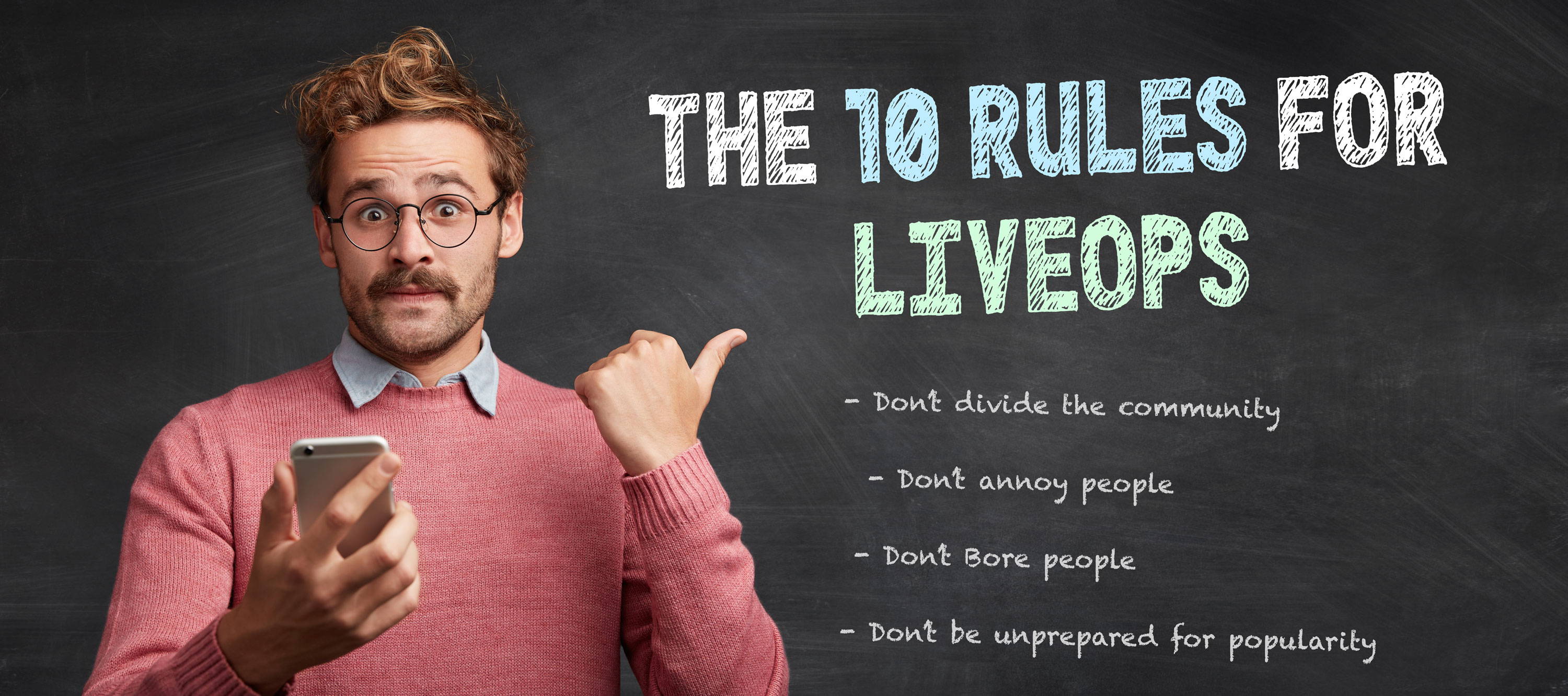 The 10 Rules For Mobile Game LiveOps
