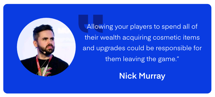 Nick Murray Quote - UserWise LiveOps Mobile Games