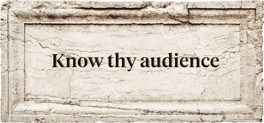 Mobile Game Aphorism | Know thy audience