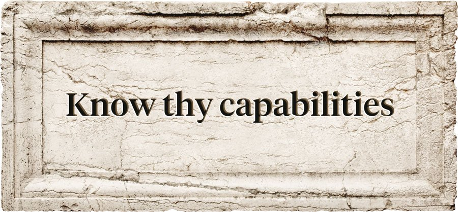 Mobile Game Aphorism | Know thy capabilities