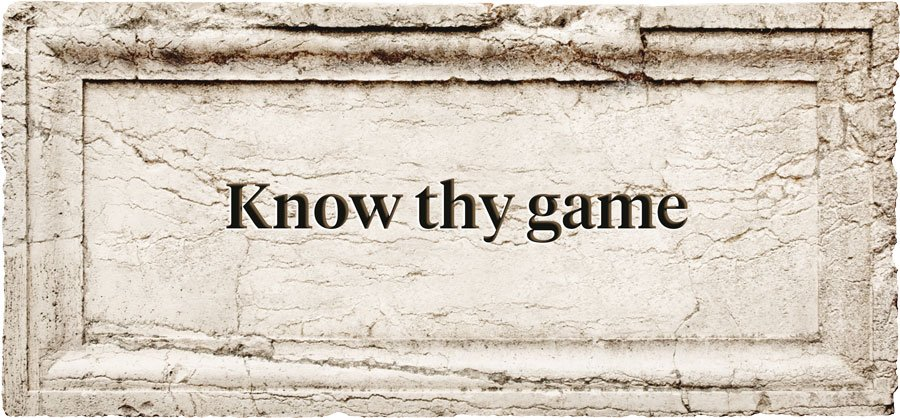 Mobile Game Aphorism | Know thy game